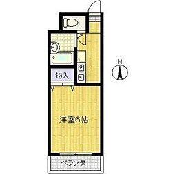 JUNWAマンション[2階]の間取り