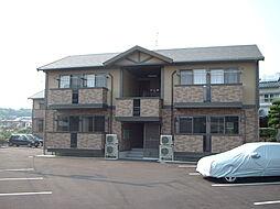 広島県福山市神村町の賃貸アパートの外観