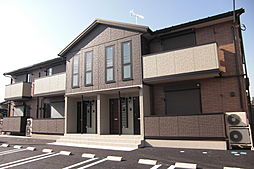 栃木県栃木市本町の賃貸アパートの外観