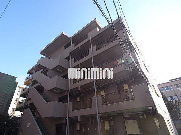 幸川マンション南館[4階]の外観