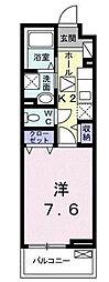 埼玉県さいたま市桜区西堀6の賃貸アパートの間取り