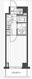 ルーブル東蒲田参番館[3階]の間取り