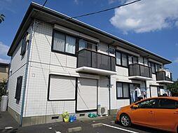千葉県佐倉市城の賃貸アパートの外観