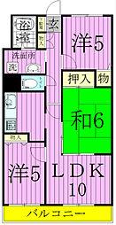 サンフラワー小松[2階]の間取り