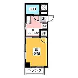 安藤ビル[4階]の間取り