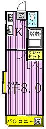 ウェステリアハウス寿[1階]の間取り