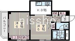 6542−スターハイツ高円寺[2階]の間取り
