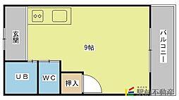 ルピナス[312号室]の間取り