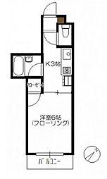 N4三宅[3階]の間取り