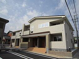 愛知県岡崎市宇頭南町の賃貸アパートの外観