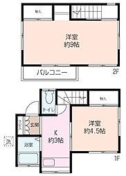 [一戸建] 神奈川県海老名市東柏ケ谷6丁目 の賃貸【神奈川県 / 海老名市】の間取り
