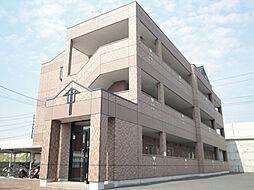 愛媛県松山市保免上2丁目の賃貸マンションの外観
