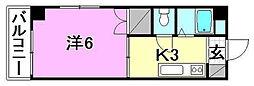ハイム木屋町[102 号室号室]の間取り
