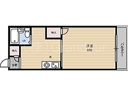 メゾンドモデラート[2階]の間取り