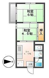 マ・メゾン御器所[3階]の間取り