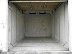 ガレージオープン状態。