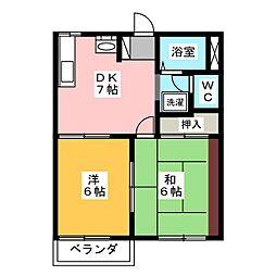 SHINKO A[2階]の間取り