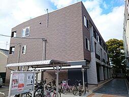 大阪府八尾市南太子堂6丁目の賃貸アパートの外観