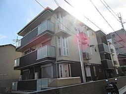 大阪府八尾市北久宝寺1丁目の賃貸アパートの外観