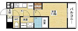 プランドール新大阪PARKレジデンス[2階]の間取り