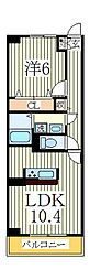 ハーモニー[3階]の間取り