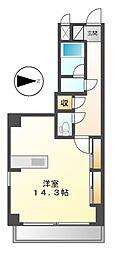スタジオスクエア大須[9階]の間取り
