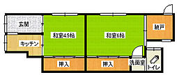 [タウンハウス] 大阪府大阪市平野区喜連1丁目 の賃貸【/】の間取り