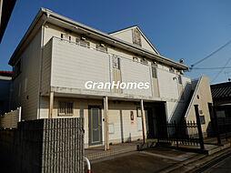 兵庫県加古川市別府町中島町の賃貸アパートの外観