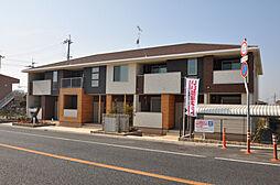 兵庫県加古川市尾上町長田字浜口の賃貸アパートの外観
