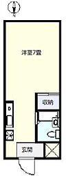サンパレスヨコオ[103号室]の間取り
