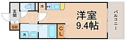 UURコート大阪十三本町[10階]の間取り