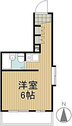 武蔵野ウイング[3階]の間取り