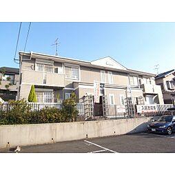 奈良県香芝市西真美1丁目の賃貸アパートの外観