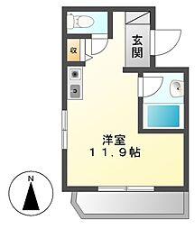 パソテイト覚王山[]の間取り画像