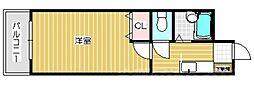 トーケン設計戸畑駅前II[2階]の間取り