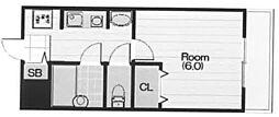 ステラハウス11[3階]の間取り