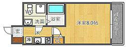 SERENiTE江坂四番館[9階]の間取り