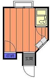ホワイトパル[1階]の間取り