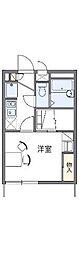 愛知県名古屋市天白区梅が丘3丁目の賃貸アパートの間取り