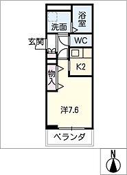 アミコートノリタケ[3階]の間取り