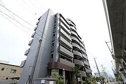 北海道札幌市北区新川五条1丁目の賃貸マンションの外観