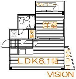ライオンズマンション亀戸第5[3階]の間取り