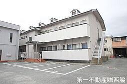 兵庫県加東市山国の賃貸アパートの外観