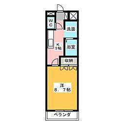 パレディオンハウス[1階]の間取り