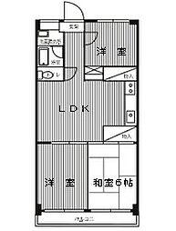 グランドパレスNS-1[402号室]の間取り
