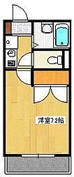 インペリアル湘南II[102号室]の間取り
