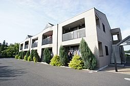 茨城県つくば市若栗の賃貸アパートの外観