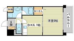 メゾン ハピネスII[3階]の間取り
