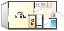 アイヨコヤマ[4階]の間取り