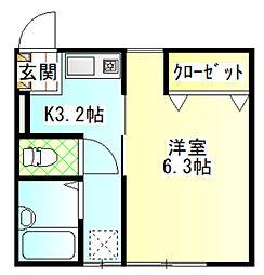国府津駅 4.5万円